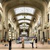Pensiline vetrate della Stazione Centrale Moderna di Milano