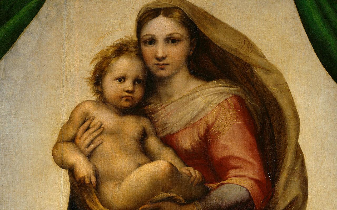 In onda su Sky l'avventurosa storia della Madonna Sistina di Raffaello