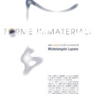 Michelangelo Lupone. Forme immateriali