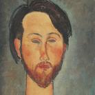 Amedeo Modigliani (Livorno,1884 - Parigi, 1920), Ritratto di Zborowski, 1916