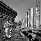 Particolare del Foro e Plinto di Medusa, Aquileia | Foto: © Elio Ciol