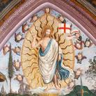 Pinturicchio, Resurrezione di Cristo con Papa Alessandro VI inginocchiato, 1492-1494, Musei Vaticani, Appartamnto Borgia