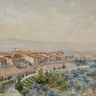 Alberto Papafava (1832-1929), Veduta di Montepulciano