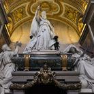Interno della Basilica di San Giovanni in Laterano a Roma, Immagine tratta dal film