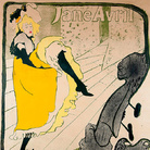Henri de Toulouse-Lautrec, Jane Avril (Before Letters), 1893, Color Lithography,  91.5x124 cm.