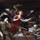 Antonio de Pereda (1611 - 1678), Il sogno del Cavaliere, 1650 circa, RABASF, Madrid