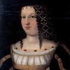 Bartolomeo Veneto (1502 - 1555), Ritratto di Lucrezia Borgia, Copia da Bartolomeo Veneto, Circa 1510, Olio su tela montata su pannello, 58 x 42 cm, Musée des Beaux-Arts de Nîmes