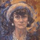 Coco Chanel: un nuovo ritratto dipinto da Marion Pike, Parigi 1967-1971