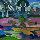 Paul Gauguin, Mahana no Atua (Giorno di Dio), 1894, Olio su tela, 68.3 x 91.5 cm, Chicago, The Art Institute of Chicago
