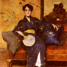 William Merritt Chase, A Comfortable Corner, 1888, The Parrish Art Museum, New York