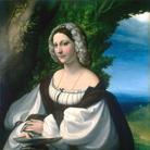 Ritratto di giovane donna del Correggio