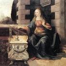 L'Annunciazione, Leonardo da Vinci, Galleria degli Uffizi di Firenze