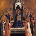 Madonna col bambino e dodici angeli