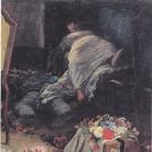 Angelo Morbelli (1854-1919), Asfissia!, 1884, Parte destra, 98 x 159 cm, Collezione privata | Foto: repro from art book via Wiki Commons