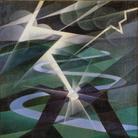 Alessandro Bruschetti, Il fulmine, 1932, Olio su tela, 91 x110 cm, Collezioni d'Arte e di Storia della Fondazione Cassa di Risparmio in Bologna
