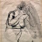 Renato Guttuso, La Maddalena, 1940, China acquerellata, 25 x 28.5 cm, Collezione privata