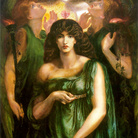 Dante Gabriel Rossetti, Astarte Syriaca, 1877