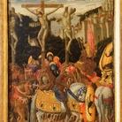 Giovanni Boccati, Crocifissione. Tempera e oro su tavola, cm 33x24,5. Galleria Nazionale delle Marche, Urbino