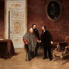 Visita di Garibaldi a Vittorio Emanuele II a Roma il 30 gennaio 1875