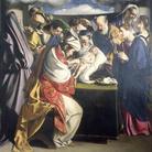 Orazio Gentileschi, Circoncisione, 1607, Olio su tela, 252 x 390 cm, Chiesa del Gesù, Ancona