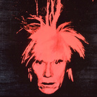 Andy Warhol, Self Portrait (red on black), 1986. Courtesy The Brant Foundation, Greenwich, CT, USA. © The Andy Warhol Foundation for the Visual Arts Inc. by SIAE 2013