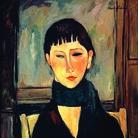Amedeo Modigliani, Ritratto di Maria, 1918 circa, Olio su cartone, 54 x 66 cm, USA, Collezione privata | Courtesy of Palazzo Ducale, Genova 2017