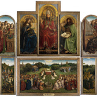 Adorazione dell'Agnello Mistico, Jan Van Eyck