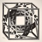 Maurits Cornelis Escher, Cube with Magic Ribbon
