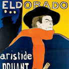 Henri de Toulouse-Lautrec Eldorado, A. Bruant dans son Cabaret, 1892 Litografia a colori, 96 x 138 cm | © Herakleidon Museum, Athens Greece