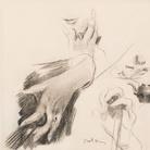 Alla Galleria Bottegantica 50 opere su carta di Giovanni Boldini