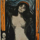 Edvard Munch, Madonna 1896 litografia, 60,5 x 44,7 cm Ars Longa, collezione Vita Brevis © The Munch Museum / The Munch-Ellingsen Group by SIAE 2013.
