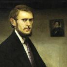 Un autoritratto di Miroslav Kraljevic, modernista croato