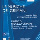 Le Musiche dei Grimani. Concerti e danze fra Rinascimento e Barocco I Le nozze Duodo - Grimani