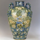 Adolfo De Carolis, Vaso,1890 ca., ceramica. Firenze, Museo Stibbert