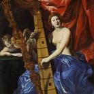 Venere che suona l'arpa