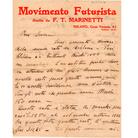 Umberto BoccioniLettera a Gino Severini, agosto 1912  Mart, Archivio del '900, fondo Gino Severini, Sev.I.3.2.14MART, Museo di Arte Moderna e Contemporanea di Trento e Rovereto
