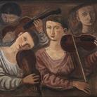 Massimo Campigli, Violini (Concerto), 1934, Olio su tela | Courtesy of Fondazione Magnani-Rocca 2020