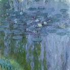 Claude Monet (1840 - 1926), Ninfee, 1916-1919 circa, Olio su tela, 200 x 180 cm, Parigi, Musée Marmottan Monet, Lascito Michel Monet, 1966 | © Musée Marmottan Monet, Paris / Bridgeman Image