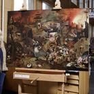 Per l'anno di Bruegel, la Dulle Griet ritrova i suoi colori