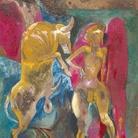 Giannetto Fieschi (Zogno 1921 - Genova 2010): dopo l'Espressionismo verso la Pop Art in anticipo sulla TransAvanguardia