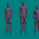 Davide Dormino. Anything to say? A monument to courage
