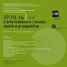 L'arte italiana e i musei: realtà e prospettive