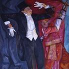 Boris Grigoriev, Ritratto di Vsevolod Mejerchol'd, 1916, Olio su tela | © State Russian Museum, St. Petersburg