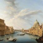 Pietro Bellotti, L'ingresso del Canal Grande con la Basilica della Salute. Ginevra, collezione privata.