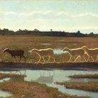 Giuseppe Pellizza da Volpedo, Lo specchio della vita, 1895-1998, Olio su tela, Torino, Gam - Galleria Civica d'Arte Moderna e Contemporanea