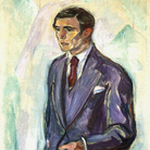 Edvard Munch, Leopold Wondt 1916 olio su tela, cm 100 x 72 Collezione privata © The Munch Museum / The Munch-Ellingsen Group by SIAE 2013