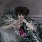 Giovanni Boldini, Ritratto della principessa Radzwill, 1910. Olio su tela, 82,5x91 cm