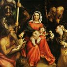 Sposalizio mistico di Santa Caterina e santi