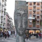 Donata al Comune di Cosenza la Tete di Cariatide di Modigliani