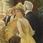 James Tissot, Il ballo, 1878 circa, Olio su tela, 50 x 90 cm, Parigi, Musée d'Orsay | © René-Gabriel Ojéda / RMN-Réunion des Musées Nationaux/ distr. Alinari